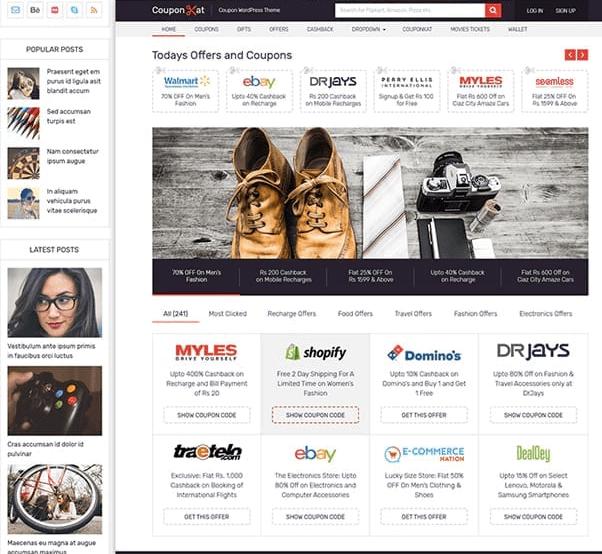MyThemeShop WordPress Coupon Theme