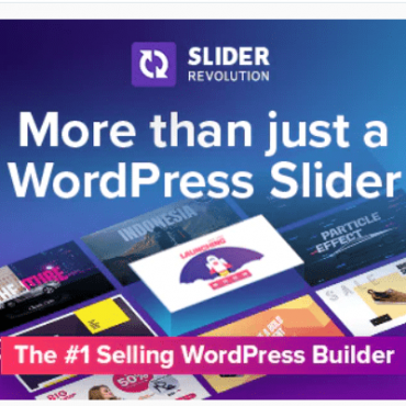WordPress Slider Revolution Plugin