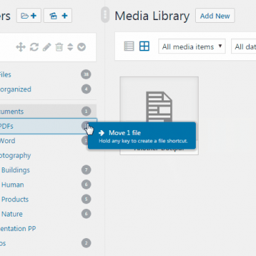 WordPress Real Media Library